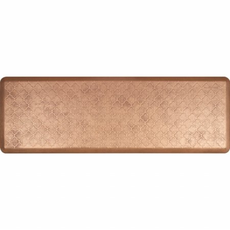 WellnessMats Estates Collection Essential Series Burnished Copper Trellis 6 x 2 Foot Anti-Fatigue Mat by WellnessMats