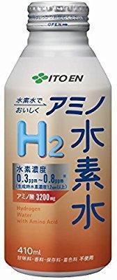 伊藤園 アミノ水素水 ボトル缶 410mlの画像