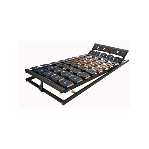 Perbix Wellness Pur KF - Lattenrost mit Tellerelemente, KF verstellbar, 90x190