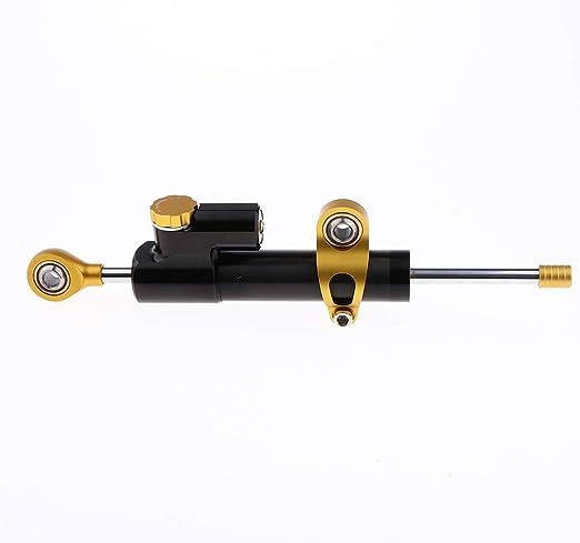 kesoto Lammortizzatore Di Sterzo In Metallo In Alluminio Per Moto Regola Il Controllo Dello Stabilizzatore