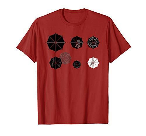 Seven Umbrellas, University Cute Academy Shirt