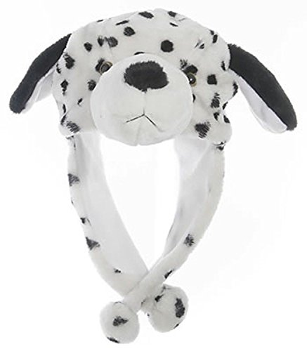 Animal Head Super Soft Plush Childrens Hat - Dalmatian (Dalmatian Costumes For Toddlers)