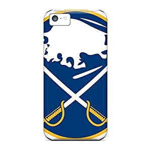Brand New 5c Defender Case For Iphone (buffalo Sabres)