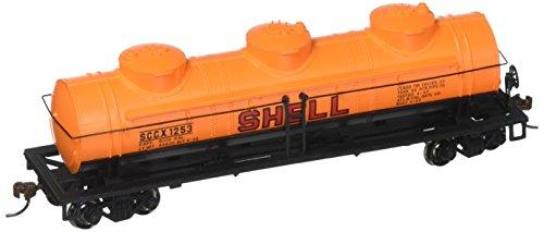 Bachmann Industries Shell #1253 40' Three-Dome Tank Car (HO Scale Train) ()