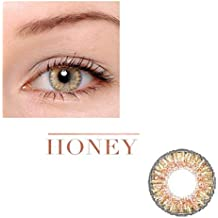Women Multi-Color Cute Charm and Attractive Fashion Contact Lenses Cosmetic Makeup Eye Shadow Honey 3 by Dream TM