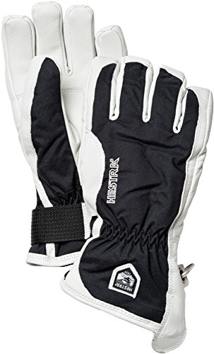Hestra Patrol Glove, Black/Off White, 10 by Hestra