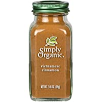 Simply Organic Ground Cinnamon Large Glass, 69g
