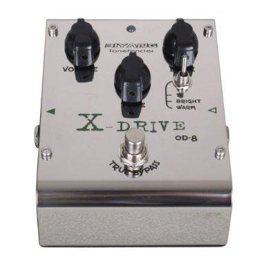 Biyang OD8 Gitarren X Drive Overdrive / Distortion Effekt Pedal & Tube Screamer Clone biyang OD 8