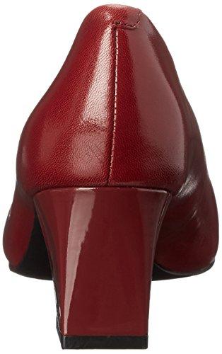 Pump Candela Patent Dress Nude 5 6 Red Us W Women's Dark Trotters gBnSwXqtq