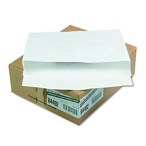Survivor R4492 Tyvek Booklet Expansion Mailer, 12 x 16 x 2, White, 18lb (Case of 100) (Tyvek Booklet Envelopes)