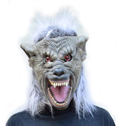 Acid Tactical Scariest Big Bad Wolf Costume Latex Halloween Cosplay Mask - Warewolf for $<!--$19.99-->
