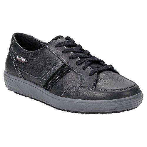 Mobils Mens Vivaldo Black Leather Shoes 40.5 EU