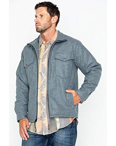 Schaefer Outfitters Men's 564 Austin Wool Jacket Heather Grey Large