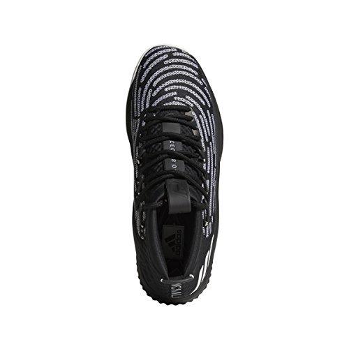 low priced 5ba5e b8ec0 Galleon - Adidas Mens Dame 4 Black History Month Shoe Basketball Shoes  (9.5, Black-White)