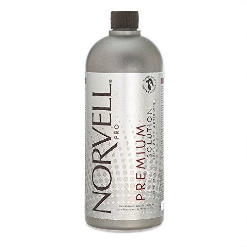 Norvell Premium Sunless Tanning Solution - Dark, 1 Liter (Best Organic Spray Tan Solution)