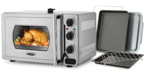 Pressure Oven Essential 22 Liter Stainless Steel with Scratch or Dent by Wolfgang Puck