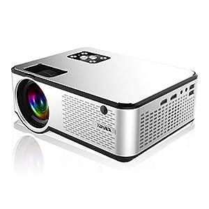 YABER プロジェクター小型 5200lm 1080PフルHD対応 高画質 1920×1080最大解像度 ホームシアター LED HIFIスピーカー