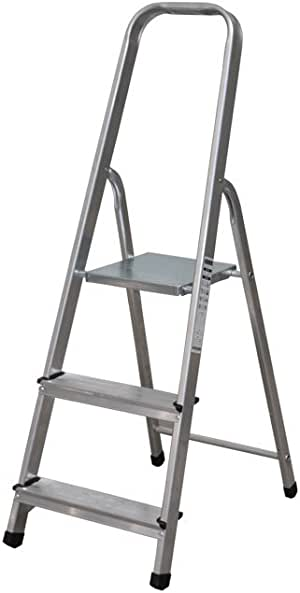 Cofan 09401031 Escalera con 3 peldaños, 0.011 V, 0,65 m: Amazon.es: Bricolaje y herramientas