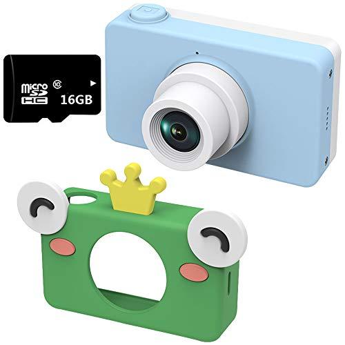 electronic Cámara Digital, Mini Digital para niños réflex Digital cámara de Juguete Deportivo, Regalo de cumpleaños para...