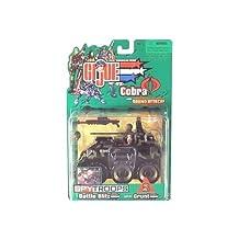 G.I. Joe vs Cobra Spy Troops Battle Blitz Vehicle with Grunt Action Figure [Toy] by G. I. Joe