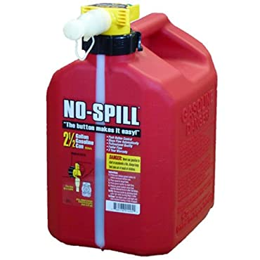 No-Spill 2.5-Gallon Poly Gas Can (1405)