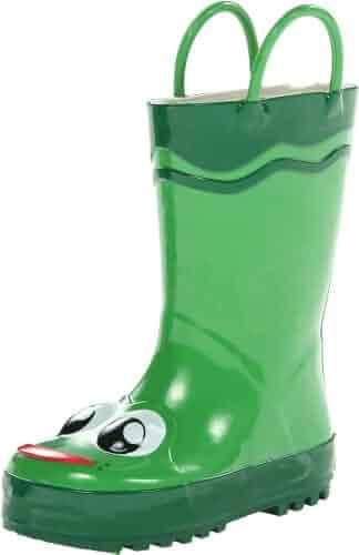 Western Chief Kids Frog Rain Boot(Toddler/Little Kid/Big Kid)