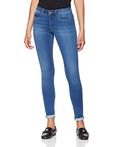Only Skinny Regular Soft Ultimate, Vaqueros con slim fit para Mujer Azul (Medium Blue Denim)