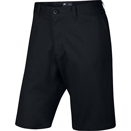 (Nike SB Mens Flex Icon Skateboard Shorts Black (32))