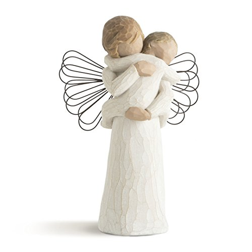 - Willow Tree Angel's Embrace Hand Painted Sculpture Figure