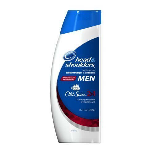 Head & Shoulders with Old Spice 2-In-1 Anti-Dandruff Shampoo and Conditioner 14.2 oz. by Head & Shoulders by Head & Shoulders