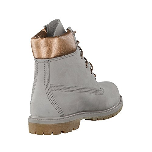 Timberland 6in Premium Boot - W STEEPLE GREY, WOMAN, Size: 41 EU (9.5 US / 7.5 UK)