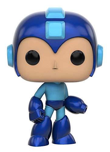 Funko POP Games: Mega Man - Mega Man Action Figure (Single Bobble Head Display Case)