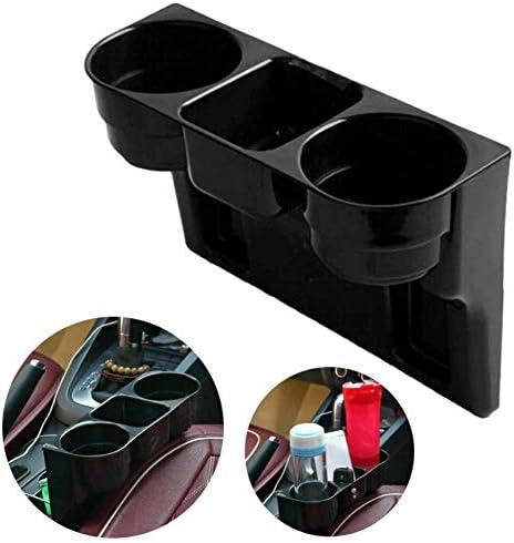 Dogggy 1 Stücke Universal Auto Lkw Sitz Seite 2 Becherhalter Autositz Keil Getränkehalter Lebensmittel Flaschenhalterung Stand Speicher Veranstalter Für Getränkeflasche Stift Telefon Auto
