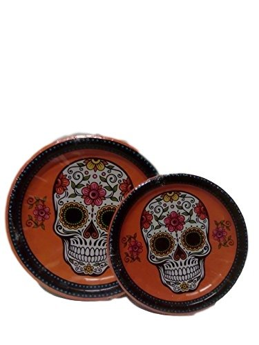 sc 1 st  Amazon.com & Amazon.com: Day Of The Dead Dinnerware Set: Kitchen u0026 Dining