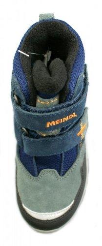 MEINDL POLAR FOX JUNIOR Winterboots Jungen, blau/orange... EU 31