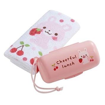 Set kawaii con toalla y caja de conejito con fresas de Japón: Amazon.es: Juguetes y juegos