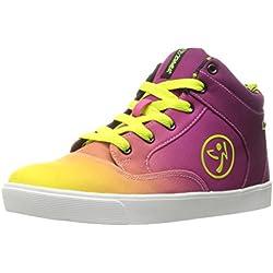 Zumba Women's Rio Street Fresh Dance Shoe, Purple, 5.5 M US