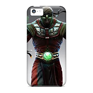 New Diy Design Mortal Kombat Ermac For Iphone 5c Cases Comfortable For Lovers And Friends For Christmas Gifts