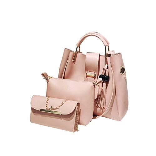 Impermeables Bolsas Chica Bolso Grandes Cuero Bandolera De Moda Handbag Niña Elegantes Shopper Hombro Rosa Casual Mano Hf Crossbody Bolsos Morning SBaxSqR