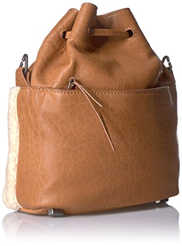 Berlin Shearling Liebeskind Missisippi Women's Bag Bucket Lambskin Cognac and ZatxPt