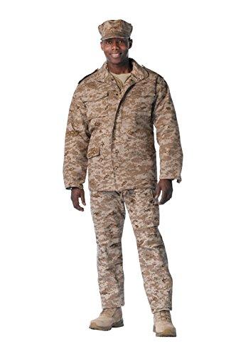 Rothco M-65 Field Jacket - Desert Digital, Large