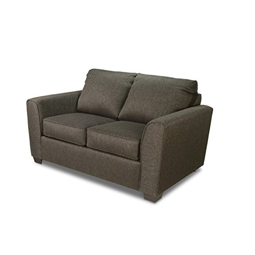 Furniture of America Cade Fabric Upholstered Loveseat in Gray