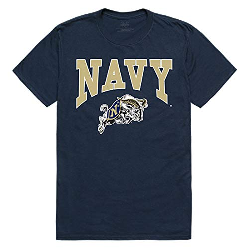 USNA United States Naval Academy NCAA Mens Athletic Tee t Shirt, X-Large Navy
