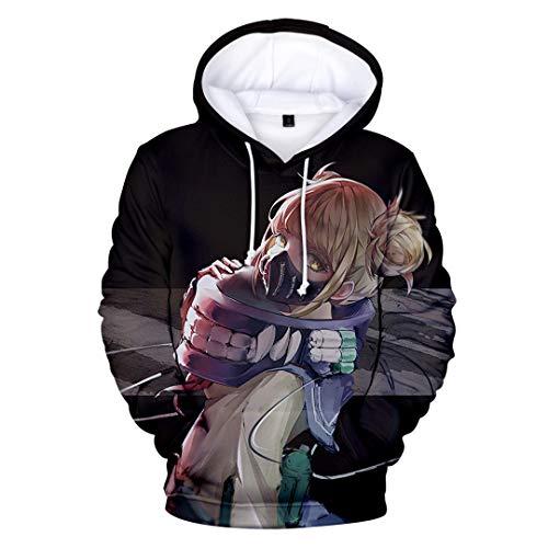 Unisex Anime Thema Hoodie 3D Print Sweatshirt Bovenkleding Cartoon karakter trui Ademend Casual Hoodie-Sweatshirt met…
