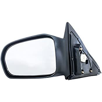 Amazon Com Tyc 4720232 Smooth Black Replacement Mirror Automotive