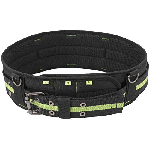 Padded Tool Belt w/ 5-inch Back Support | Adjustable Waist 28