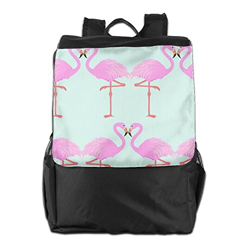School Pink Women and Strap Outdoors Men Storage Flamingos Personalized Adjustable HSVCUY for Travel Dayback Camping Backpack Shoulder wFYxXvq6Z