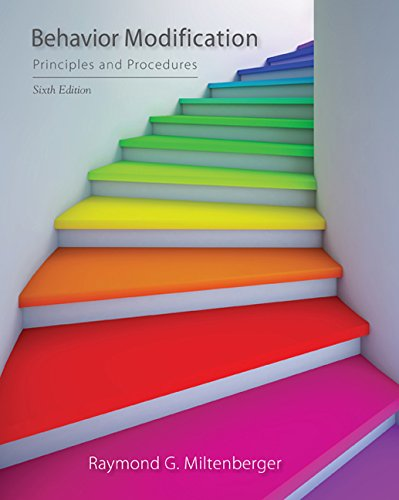 Behavior Modification: Principles and Procedures by Wadsworth Publishing