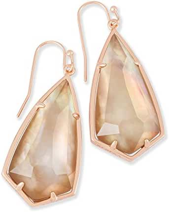 Kendra Scott Signature Carla in Rose Gold and Brown Mother of Pearl