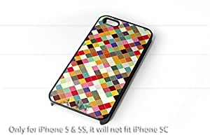 Vintage hipster colorful Pattren iPhone 5 5S case / iPhone 5 Case - 4G AArt 003 -AT&T, Verizon & Worldwide Providers...